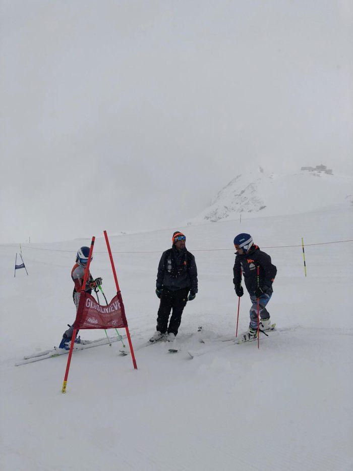 SAAS FEE. El Cetdi Aragón Alpino regresa al glaciar.