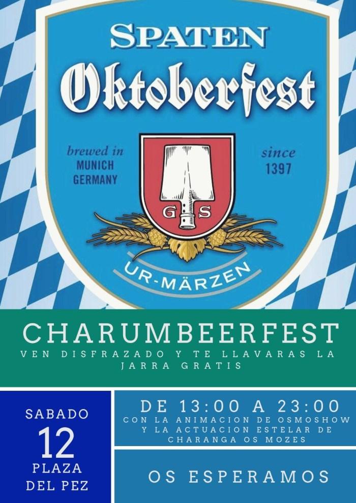 OKTOBERFEST. La peña Charumba celebra la Charumbeerfest.