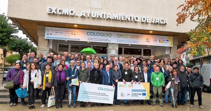 COLOQUIO SOBRE EL CAMBIO CLIMÁTICO. Participantes en la segunda sesión. (FOTO: Iván Escribano / Lookme)
