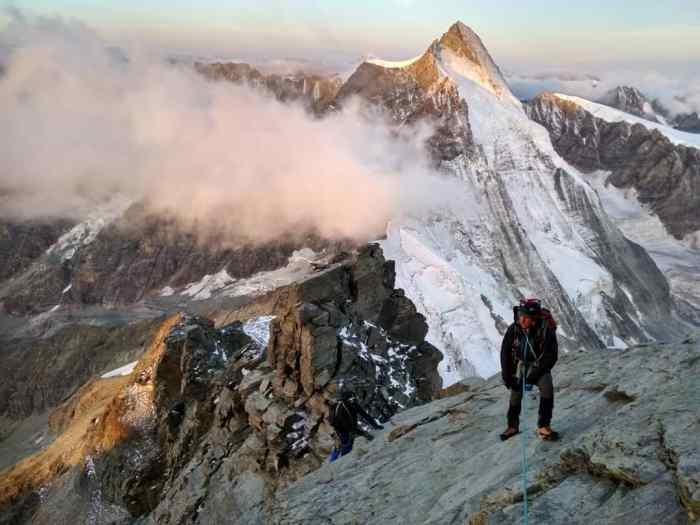 GRUPO MILITAR DE ALTA MONTAÑA. Salida a los Alpes. (FOTO: GMAM)