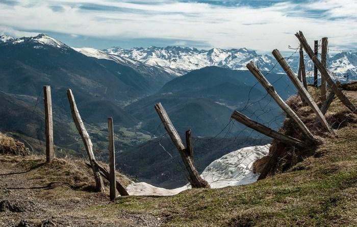 CAMBIO CLIMÁTICO. Paraje del Pirineo francés.
