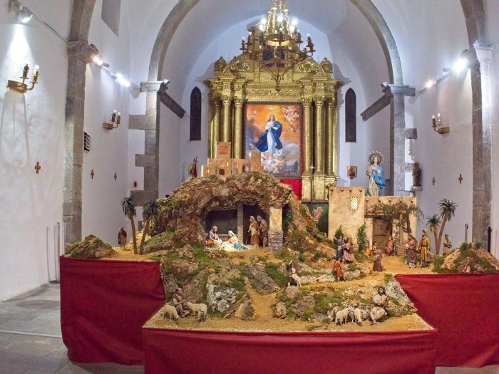 BELÉN DE LA CIUDADELA. La Ciudadela abre su campaña de Navidad.