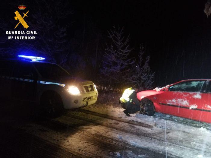 TARDE NOCHE DEL 8 DE NOVIEMBRE. Incidencias en las carreteras del Pirineo.