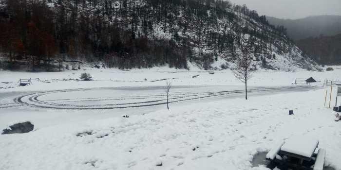 NIEVE. Espacio Nórdico de Linza. (FOTO: Espacios Nórdicos de Aragón)