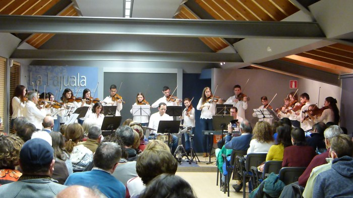 La Caja de Música de Sabiñánigo.