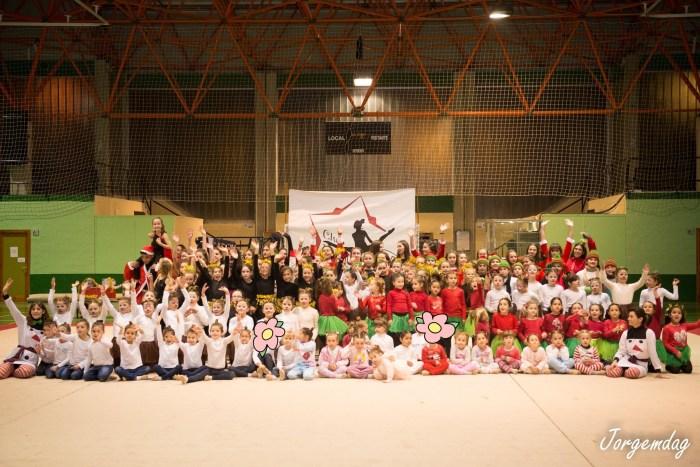 CLUB JACETANO GRD. Gala de Navidad del Club Jacetano Gimnasia Rítmica Deportiva. (FOTO: Jorge Muñoz de Arenillas)