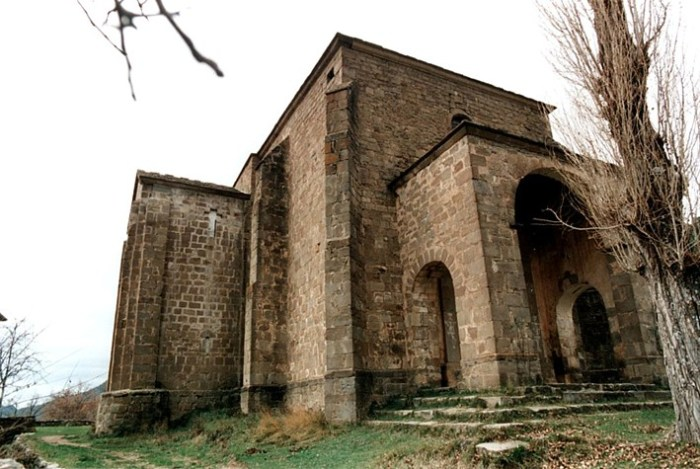 POR LOS CONFINES DE SABIÑÁNIGO. Santuario de San Úrbez de Nocito, Nueno. Archivo del Gobierno de Aragón.