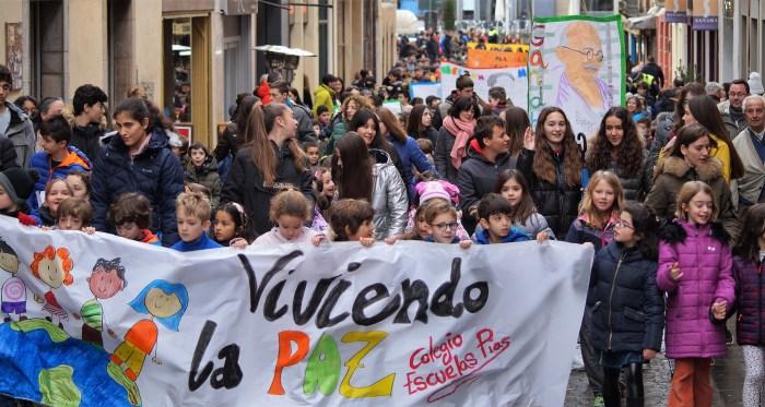 MARCHA POR LA PAZ 2020. (FOTO: Rebeca Ruiz)