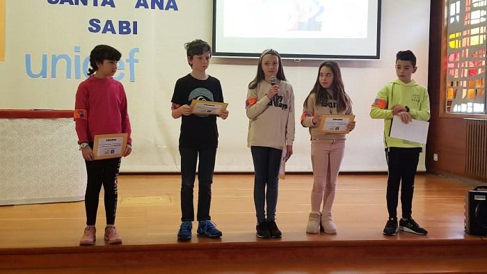 SANTA ANA. Alumnos mediadores. (FOTO: Rebeca Ruiz)