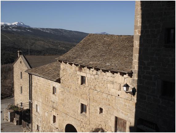CASA SEÑOR DE LAGUARTA. (FOTO: Ayuntamiento de Sabiñánigo)