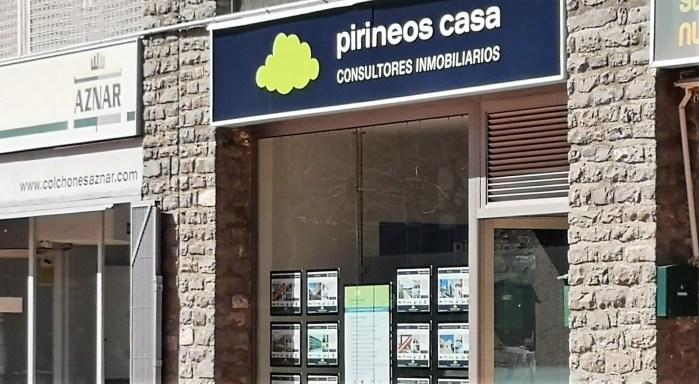 PIRINEOS CASA. Oficina de Jaca. (FOTO: Javi del Pueyo)