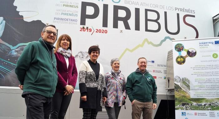 PIRIBUS. Un momento de la inuaguración del Piribus. (FOTO: Rebeca Ruiz)