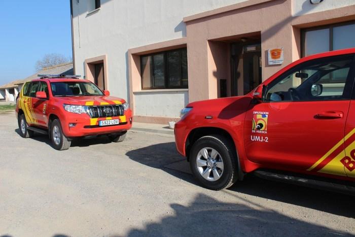 NUEVOS VEHÍCULOS. Servicio de Prevención, Extinción de Incendios y Salvamento (SPEIS). (FOTO: DPH)