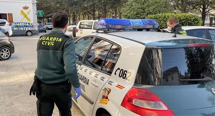 DETENIDOS. Los detenidos ocuparon viviendas en Sabiñánigo.