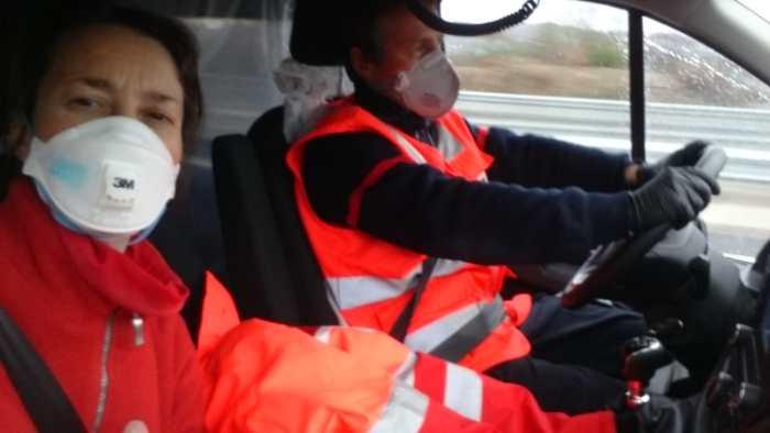 Lidia, de acompañante en una ambulancia (FOTO: Lidia)