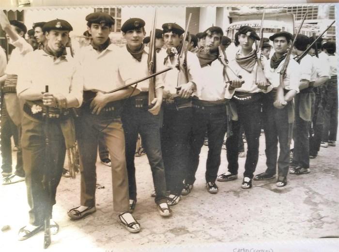 Del libro sobre Jaca Primer Viernes de Mayo: la historia jacetana, de Pedro Juanín (2002).