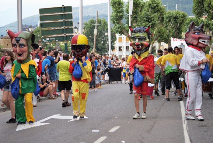SIN FIESTAS EN VERANO. Imagen de archivo de las fiestas de Santa Orosia de Jaca. (FOTO: Rebeca Ruiz)