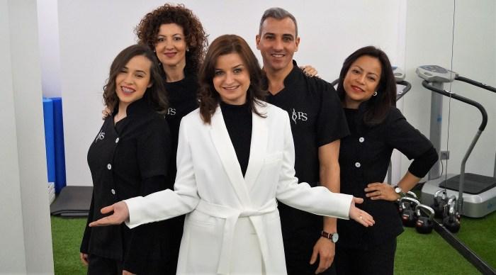 REAPERTURA. La doctora Patricia de Siqueira y su equipo ya lo tienen todo listo para la reapertura de su clínica en Jaca. (FOTO: Rebeca Ruiz)