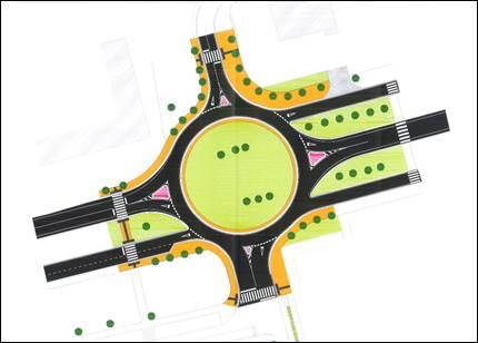 Proyecto de la nueva rotonda.