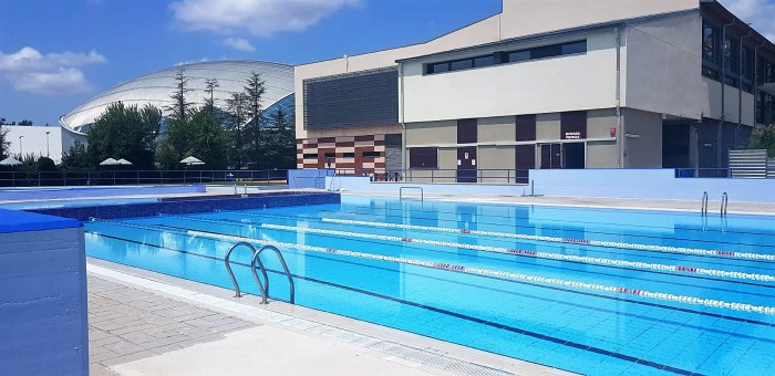 JACA. El 1 de julio se abren las piscinas de verano. (FOTO: Rebeca Ruiz)