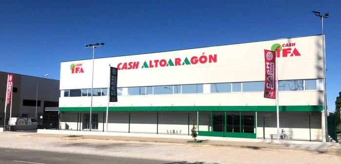 LLANO DE LA VICTORIA. Nuevas instalaciones en Jaca del nuevo Cash Altoaragón-IFA.