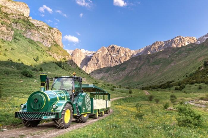 PANTICOSA. El Tren de Alta Montaña El Sarrio.