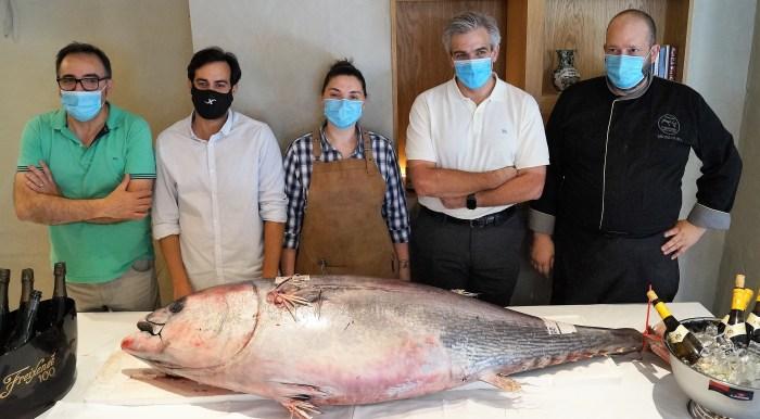 COBARCHO. Un momento de la presentación de las Jornadas Gastronómicas del Atún Rojo.