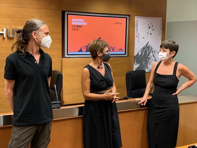 DPH. Un momento de la presentación de Lo Mon Contemporáneo. (FOTO: DPH)