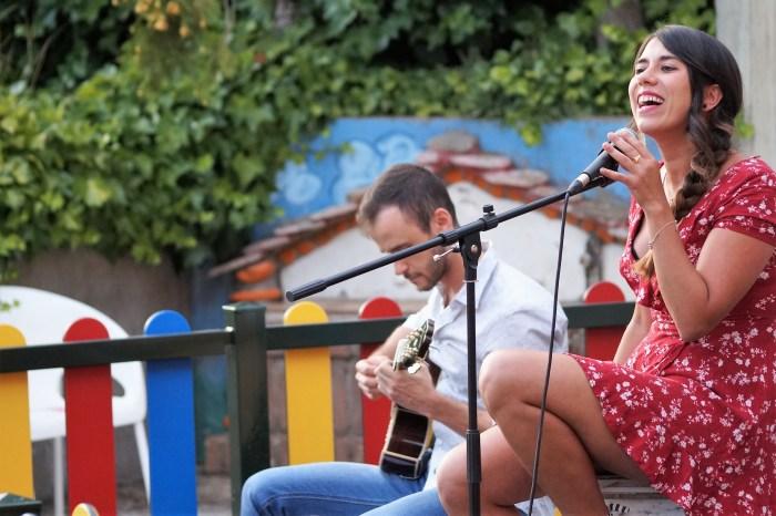 ACTUACIÓN. Concierto de Golpe Maestro en la Terraza Ágora. (FOTO: Rebeca Ruiz)