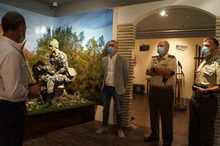El Museo de la EMMOE es un paseo por la historia de la montaña y las operaciones especiales. (FOTO: Rebeca Ruiz)