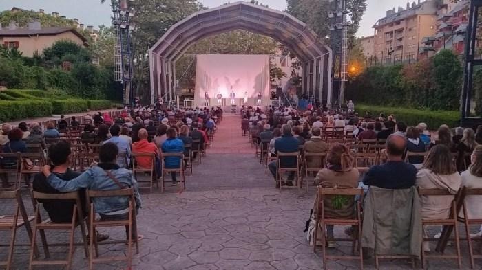 SAN LURE. Lleno en el estreno de Marcelino, el mejor payaso del mundo. (FOTO: Rebeca Ruiz)