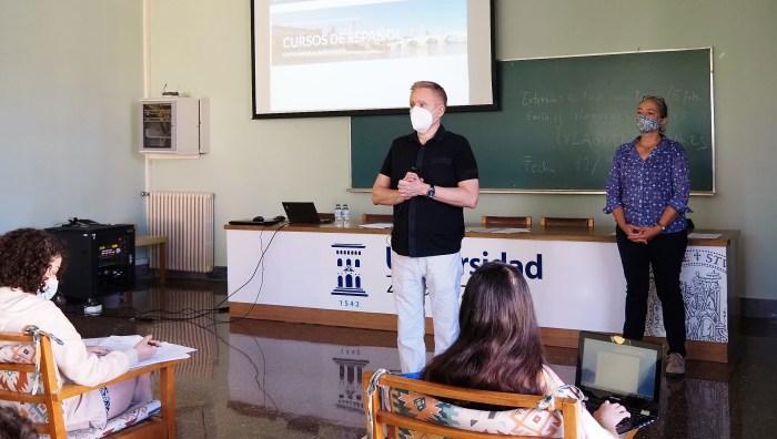 JACA. Comienzan los diferentes cursos de Español para Extranjeros. (FOTO: Universidad de Zaragoza)