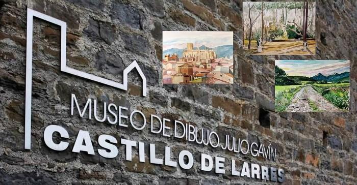 MUSEO DE DIBUJO JULIO GAVÍN-CASTILLO DE LARRÉS. Acuarelas para un confinamiento, de Fernando Alvira.