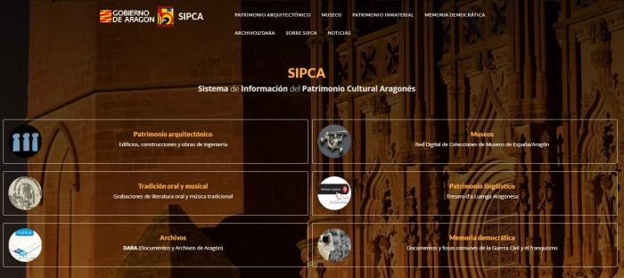 SIPCA. Web del Patrimonio Cultural Aragonés.