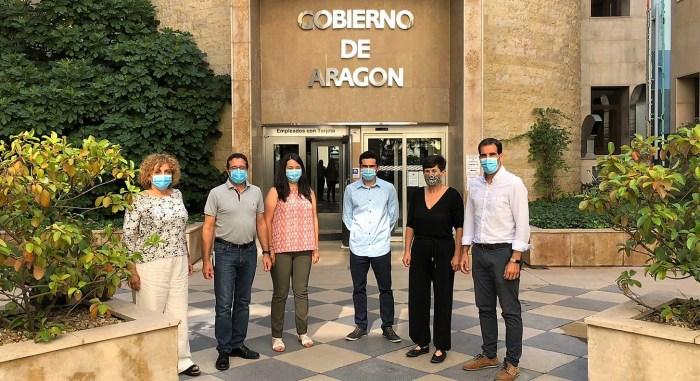 ENCUENTRO. Los presidentes comarcales piden más sensibilidad con los espacios protegidos.