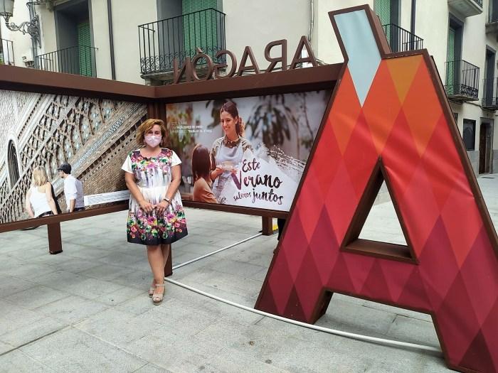 TURISMO DE ARAGÓN. Lo mejor de la comunidad se muestra en Jaca hasta el próximo día 16. (FOTO: Rebeca Ruiz)