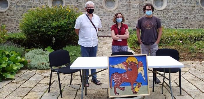 PRESENTACIÓN. De izda. a dcha., Raigón, Luque y Bote. (FOTO: Rebeca Ruiz)