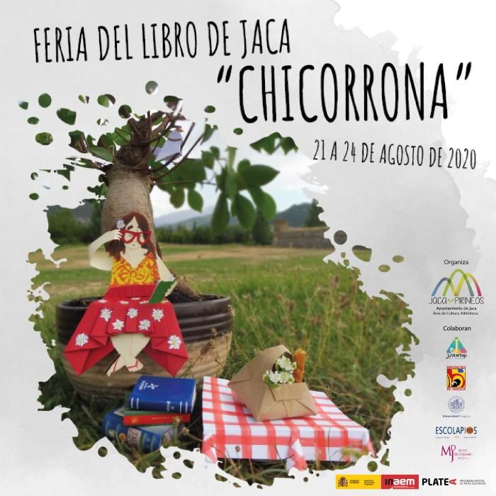CARTEL. Feria del Libro Chicorrona de Jaca.