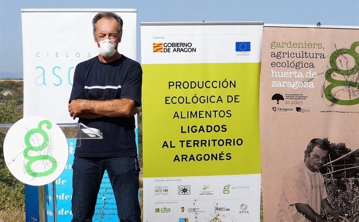 PRESENTACIÓN. Alfredo Beltrán, gerente de Adecuara. (FOTO: Rebeca Ruiz)