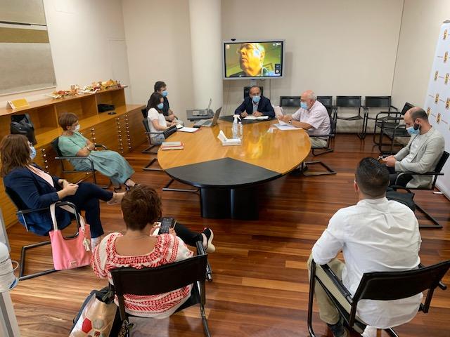 Comisión de Cultura. Memoria Histórica (FOTO: DPH)