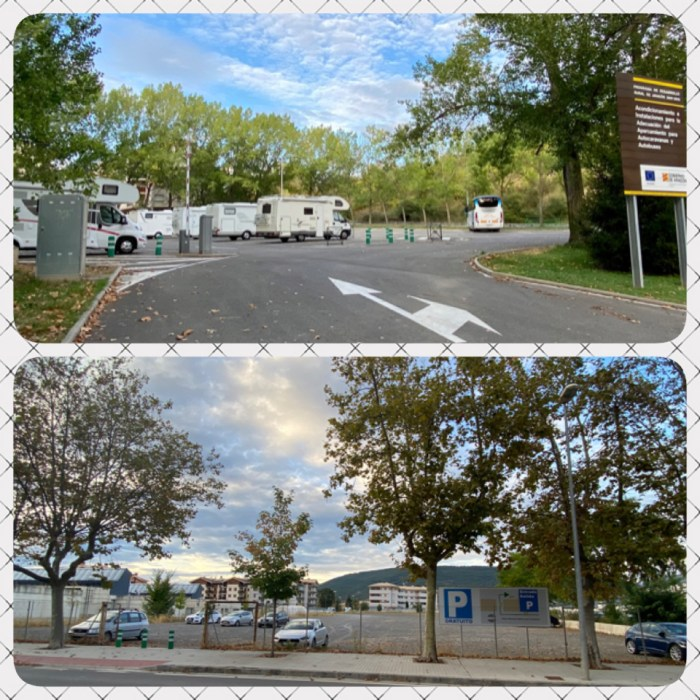 El PP propone un cambio de ubicación del parking de caravanas. (FOTO: PP)