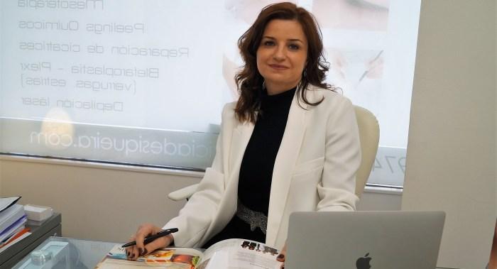 La Doctora Patricia de Siqueira es especialista en Medicina Estética. (FOTO: Rebeca Ruiz)