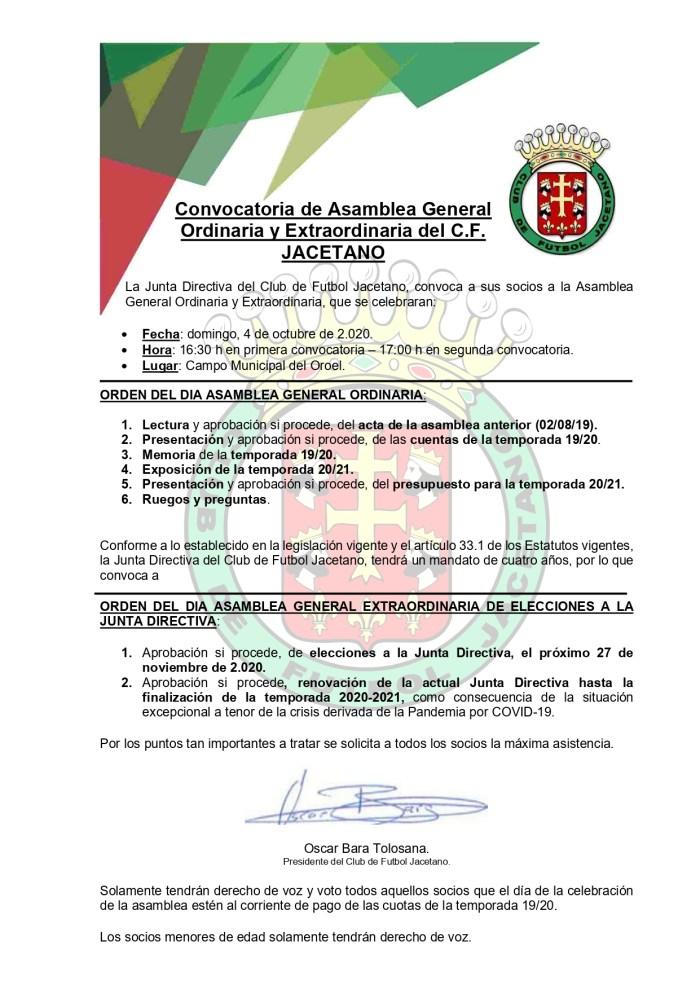 Comienza la temporada para todas las categorías del CF Jacetano.