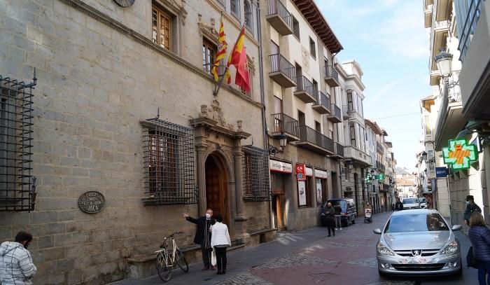 El Ayuntamiento de Jaca destinará la partida de los presupuestos participativos a ayudas a sectores afectados por el Covid. (FOTO: Rebeca Ruiz)