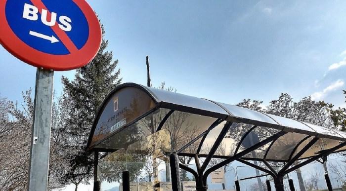Cambios en el servicio de autobús urbano de Sabiñánigo. (FOTO: Rebeca Ruiz)