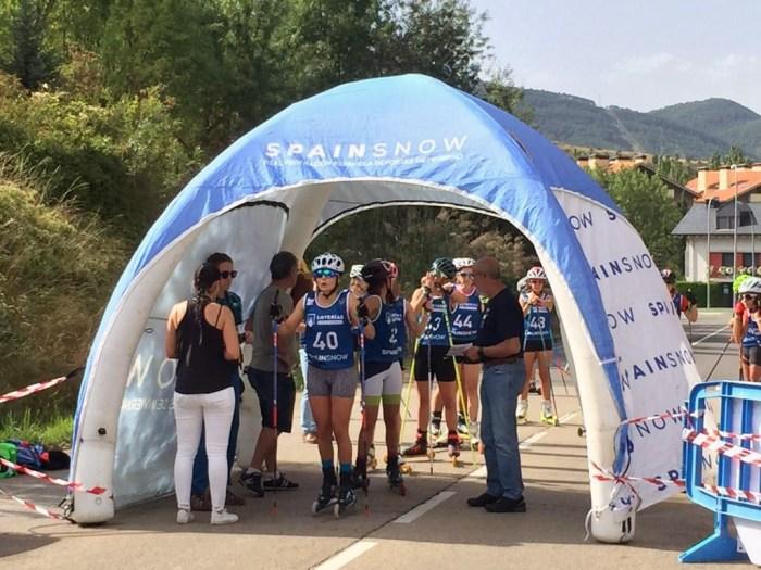 Campeonato de España Trofeo Ciudad de Jaca Rollerski 2019.