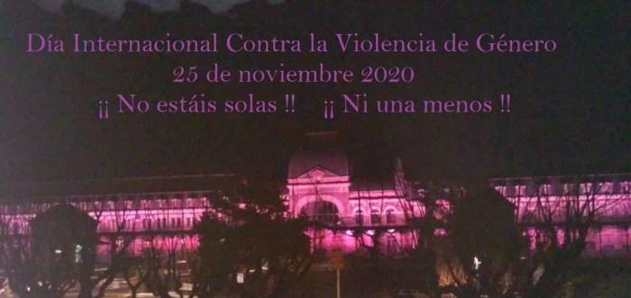 Día Internacional de la Eliminación de la Violencia Contra la Mujer en Canfranc.