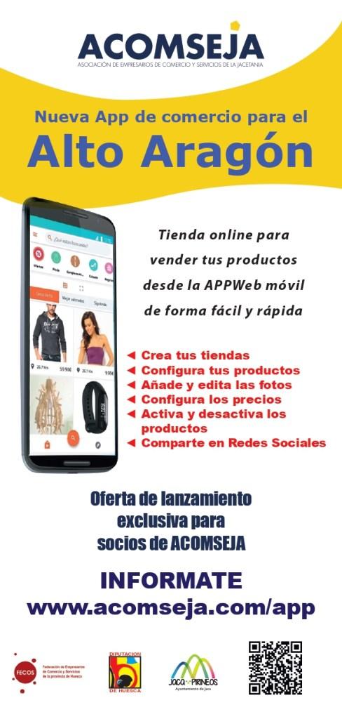 Nueva app del comercio para el Alto Aragón.