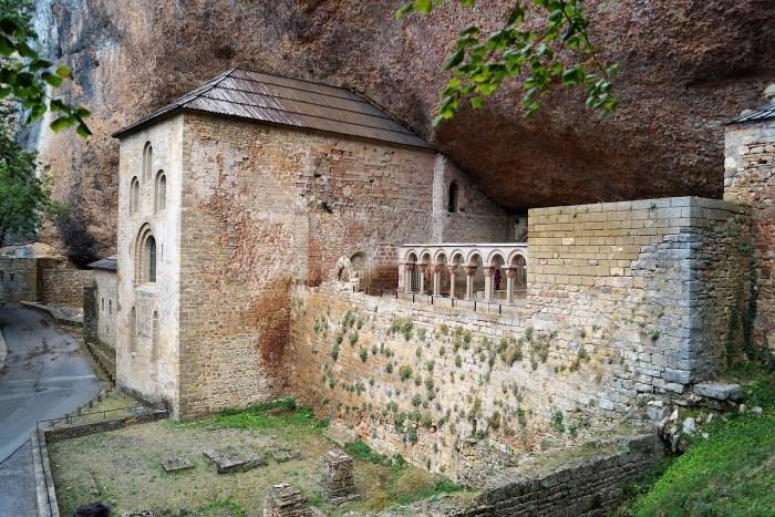 Monasterio de San Juan de la Peña. (FOTO: Rebeca Ruiz)