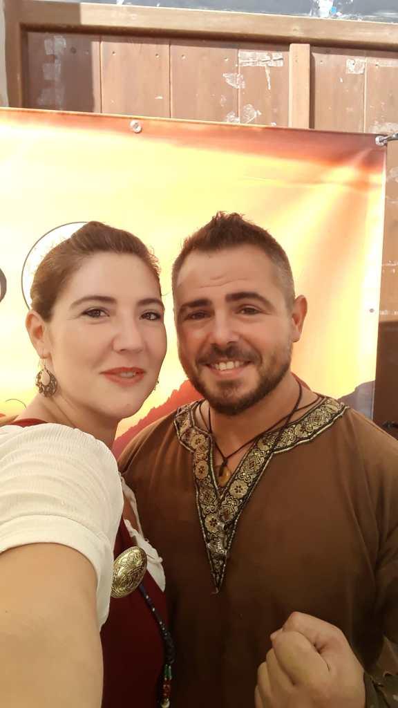 Esther Rodríguez y Javier Guerrero (Hidromiel Guerrero).